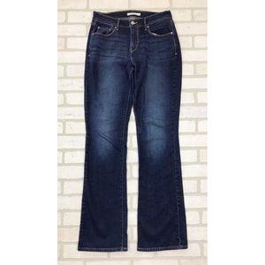 Levi Strauss 515 Dark Wash Boot Cut Jeans 6